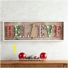 Believe Wall Decor