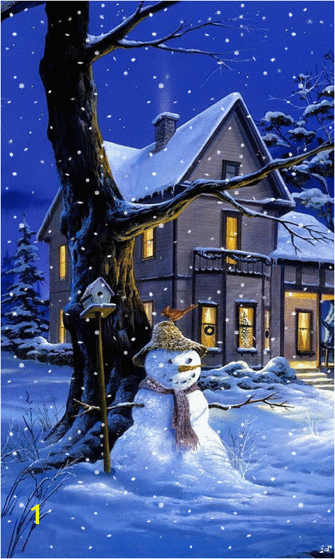 Animated Christmas wallpaper for your phone sparkles and snows Free iphone wallpaper phone wallpaper