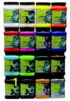 2488 Chroma Mural Paint Half Gallon Assortment