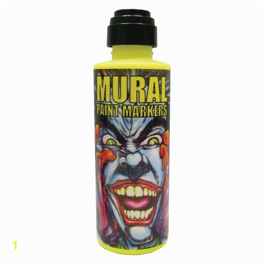 Mural Paint Marker Techno Yellow