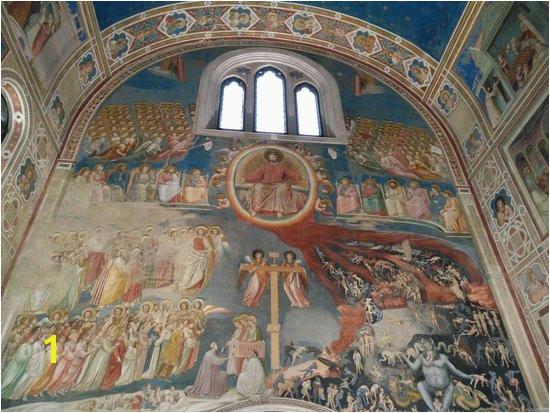 Church Baptistry Murals Capella Dei Scrovegni Picture Of Scrovegni Chapel Padua Tripadvisor