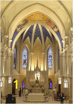 Apse mural and interior decoration St John the Evangelist Lambertville NJ