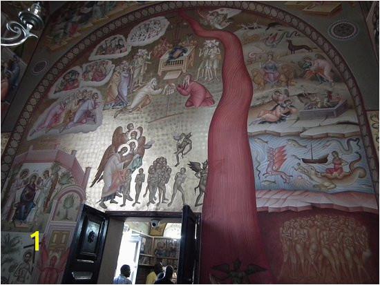 The Church of the Twelve Apostles Doom painting