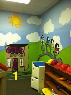 Church Nursery Murals 118 Best Nursery Ideas Images