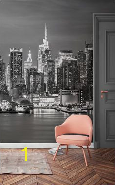 This New York wallpaper mural captures the glitz and the glamour