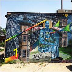 streetart cleveland waterloo zoeticwalls mural Cleveland Ohio Outdoor Art