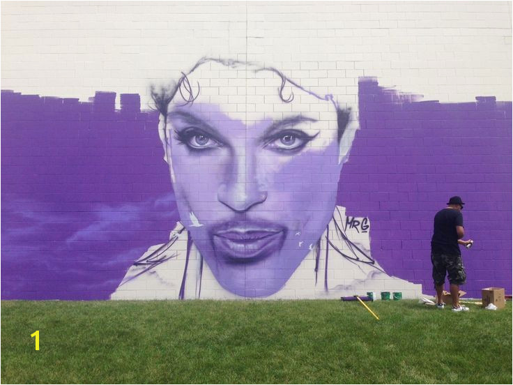 Image result for cleveland ohio prince mural on bridge