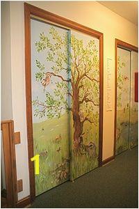 Closet Door Murals 11 Best Home Closet Door Ideas Images