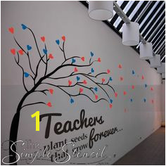 Teachers Plant Seeds That Grow Forever 2 School Wall