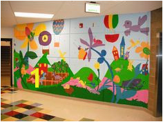 """A walk in the hills"" Wall Murals Indian Hills Elementary 4 6"