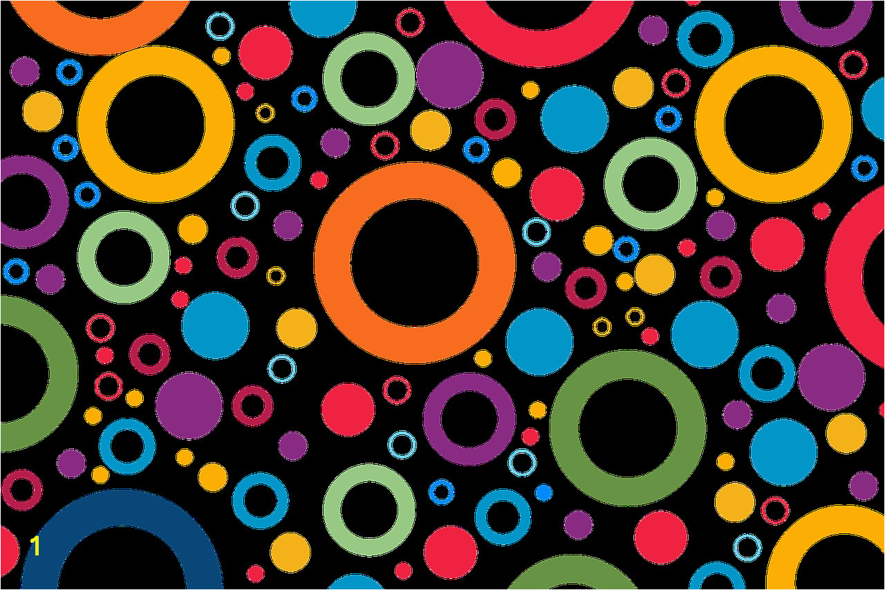 Wallpaper Pattern Colorful Color Rings Circle