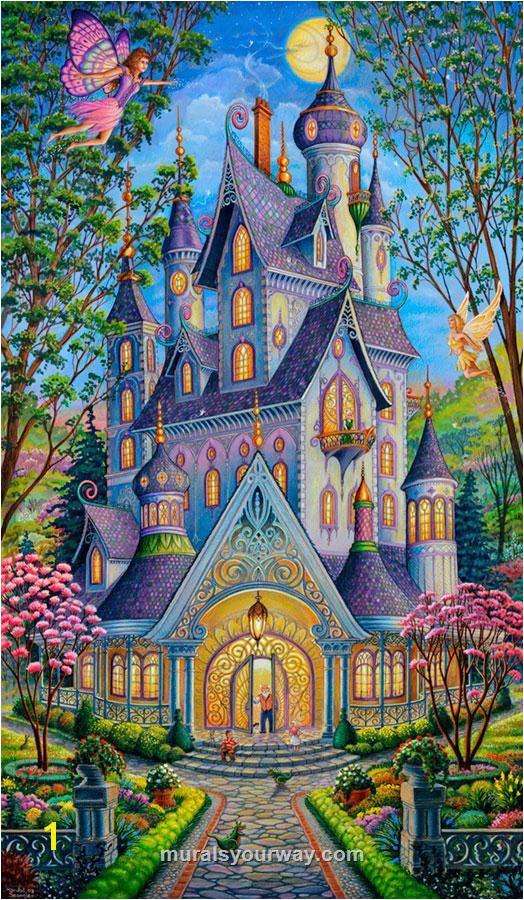 Coloring Wall Murals Springtime Splendor Mural стіна будинку Pinterest