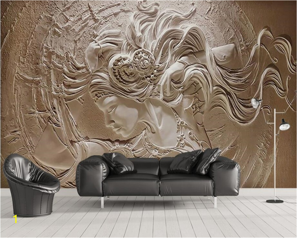 Commercial Wall Murals Beibehang Custom Wallpaper Home Decoration Background 3d Relief