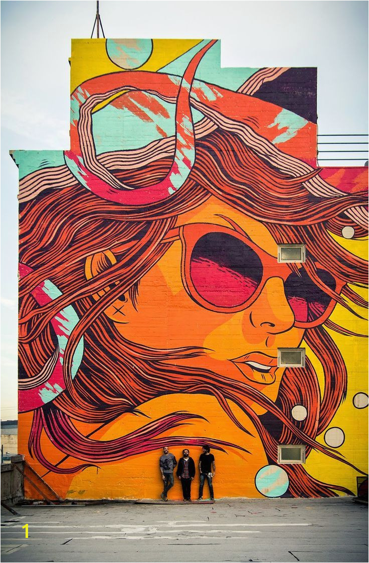 Bicicleta Sem Freio New Mural Los Angeles USA Part I
