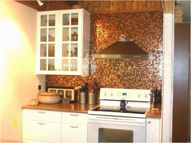 copper kitchen backsplash penny tile copper kitchen backsplash murals