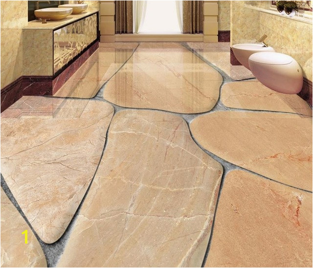 custom 3d flooring cobblestone self adhesive wallpaper 3d floor tiles waterproof wallpaper 3d floor painting photo wall mural
