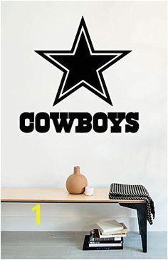 Wall Decals Dallas Cowboys Logo American Football Vinyl S Dallas Game Dallas