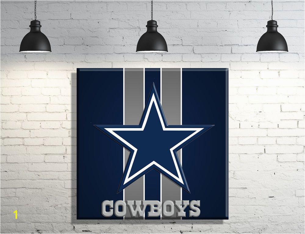 Dallas Cowboys Wall Murals Dallas Cowboys Framed Canvas Wall Art Decor