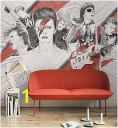 Amazing David Bowie Wallpaper Murals Ultra realistic Art Design Extra Wall Decor Panels 70