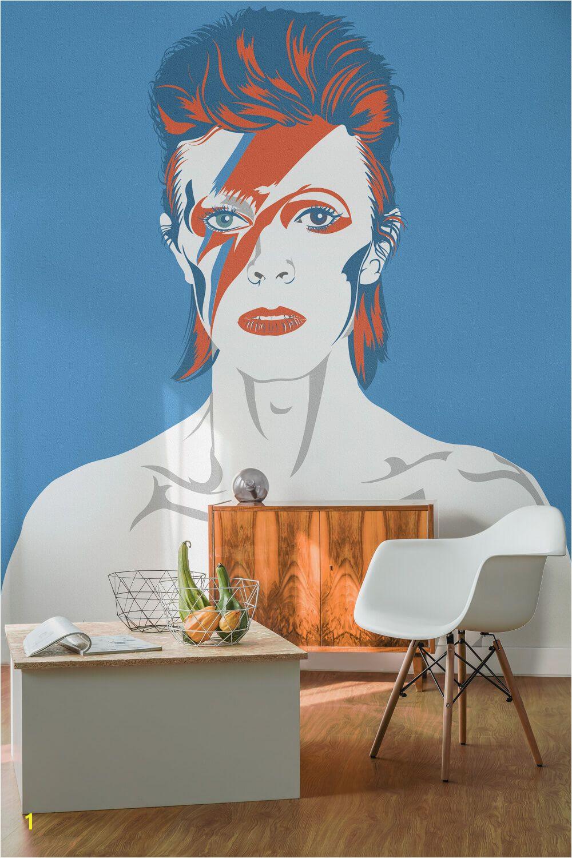 David Bowie Wall Mural David Bowie Wallpaper Mural David Bowie Pinterest