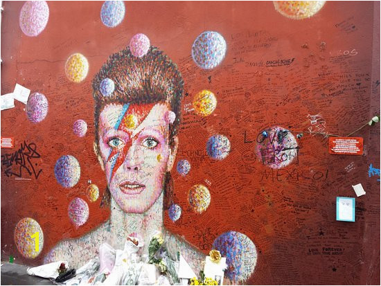 David Bowie Memorial Grande celebrazione