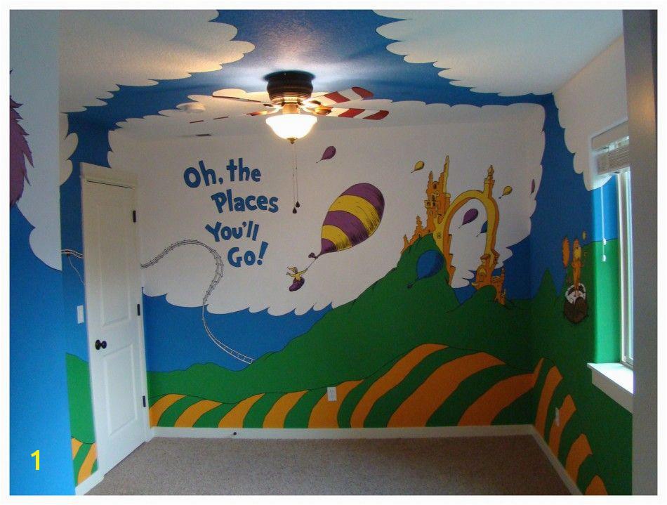 Image detail for Dr Seuss Room Dr Seuss Mural Dr Seuss Nursery
