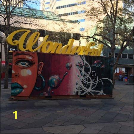 16th Street Mall Art Display