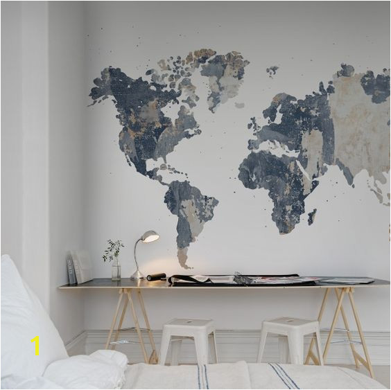 Design Your Own Mural Your Own World Battered Wall In 2019 Interior Design