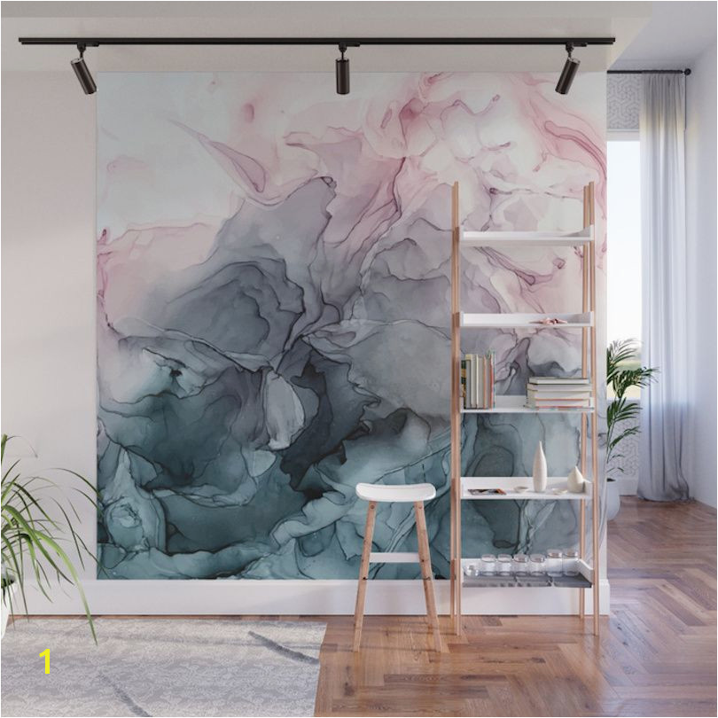 Give Your Home a Bold Accent Wall with Society6 s New Peel Stick Wall Murals Design Milk