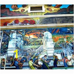 Diego Rivera s Detroit Industry Murals at DIA A Masterpiece Part 1
