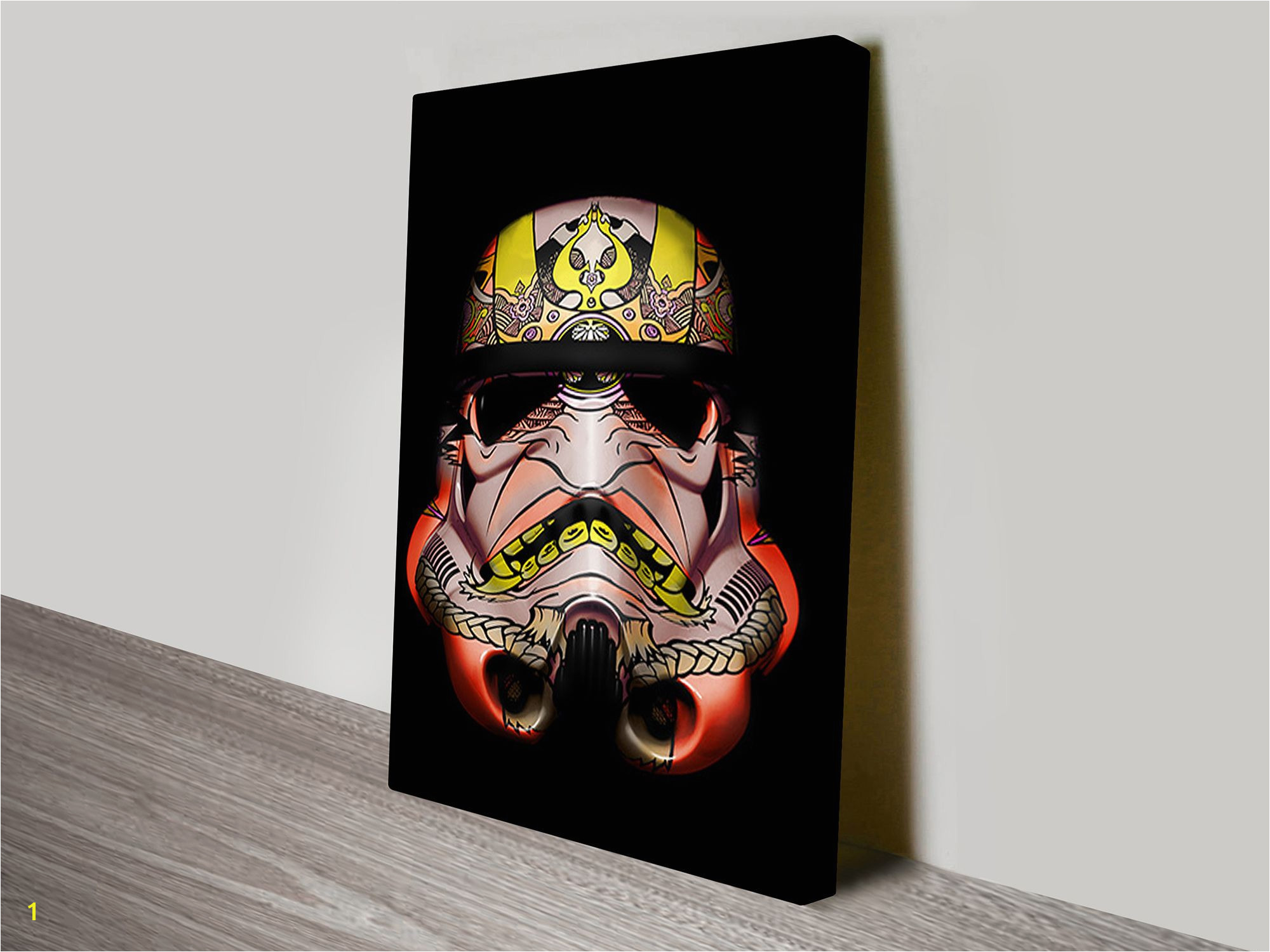 Painted Stormtrooper Canvas Wall Art Print & Poster Picture Australia