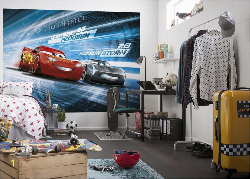 Disney Cars Wall Mural Full Wall Huge Cars 3 Disney Photo Wallpaper In 2019 Boys Room