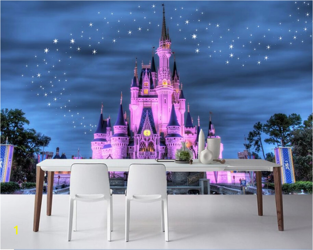 Beibehang Custom Wallpaper Home Decor 3D Mural Fantasy Star Castle Kids Living Room TV couch background walls mural 3d wallpaper in Wallpapers from Home
