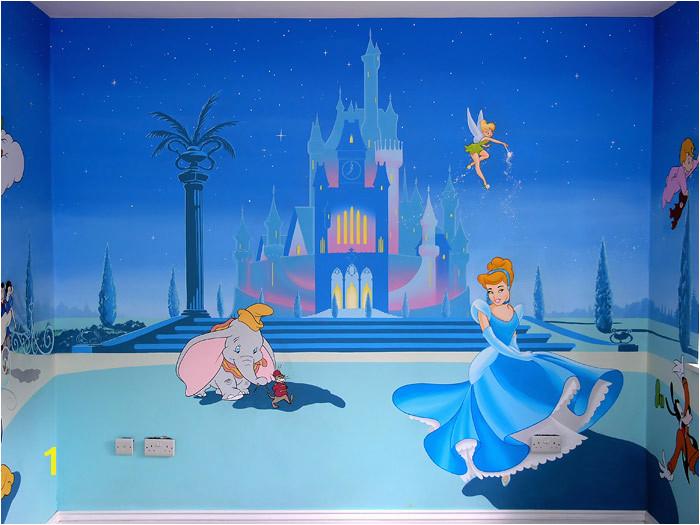 Disney Castle Wall Murals Disney Free Wallpaper Disney Wallpaper Murals
