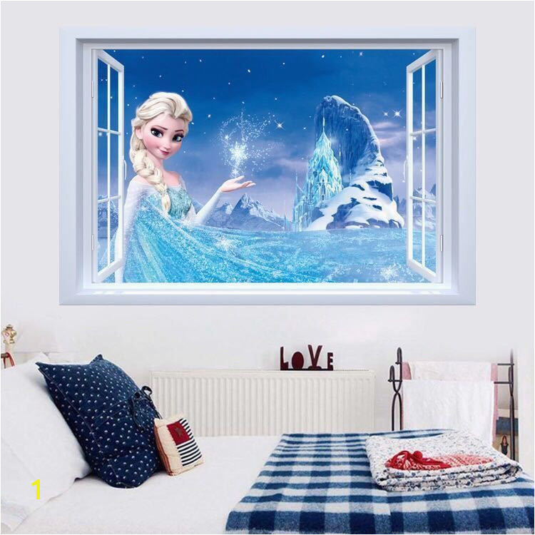 Disney Frozen Elsa Castle Wall Decals