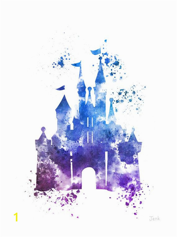 Disney Castle Wall Murals for Sale Direct From the Artist original Art Print Of Cinderella