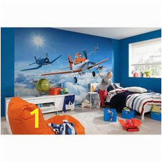 Komar Disney Planes the Clouds Wall Mural 8 465