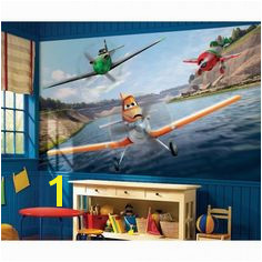 Disney Planes Wall Mural Wall Murals Bedroom Mural Wall Little Boys Rooms Roommates