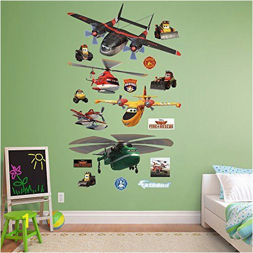 Disney Planes Wall Mural Fathead Disney Planes Fire and Rescue Collection Real Big Wall Decal