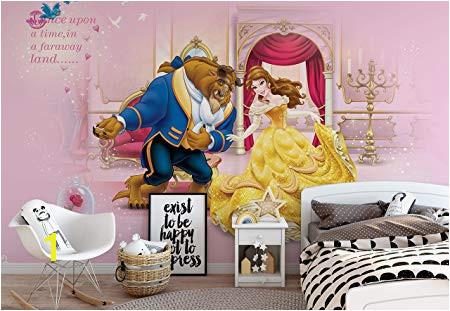Disney Princesses Beauty Beast Wallpaper Wall Mural EasyInstall Paper Giant Wall