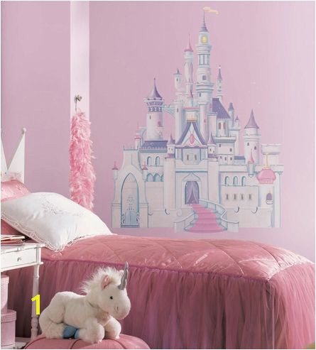 Disney Princess Castle Peel & Stick Giant Wall Decal