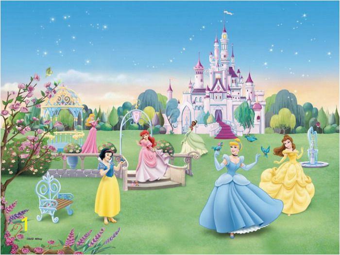 castle murals for girls bedrooms