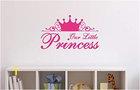 Asian Paints Wall s Our Little Princess Baby Wall Sticker PVC Vinyl 0 01
