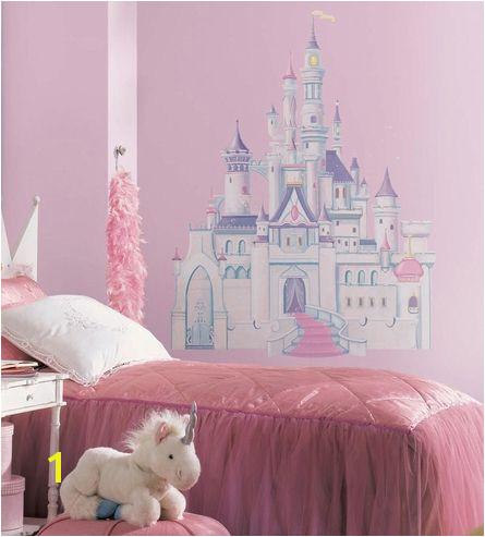 Disney Princess Mural Stickers Disney Princess Castle Peel & Stick Giant Wall Decal