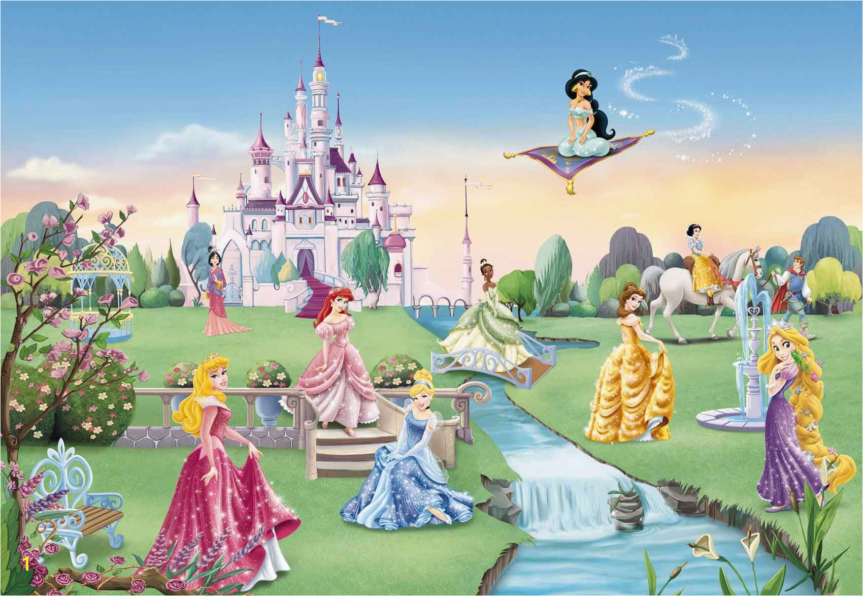 Disney Princess Mural Stickers Pin by Stacie Dulin On Extreme Makeover for Madeline S Rooom In 2019
