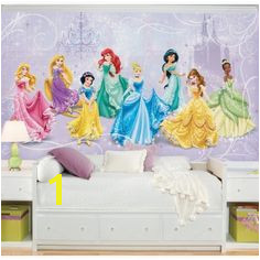 Disney Princess Royal Debut XL Wallpaper Mural 10 5 x 6