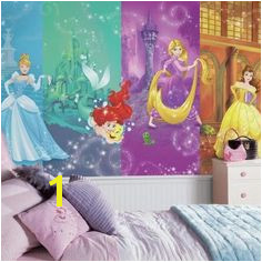 Disney Princess Scenes Wall Mural by RoomMates Decor Giant graphic Removable