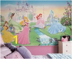 Disney Princess Wallpaper Murals Disney Princess Wall Decals