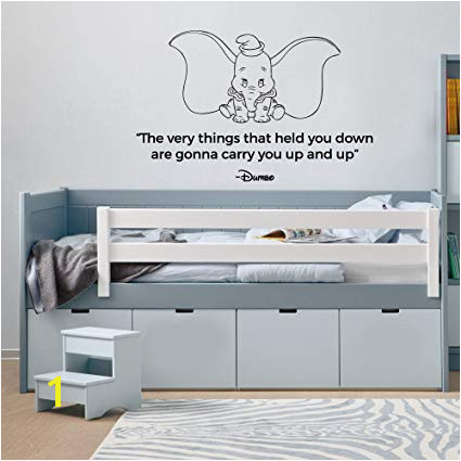 Disney Wall Mural Stencils Dumbo the Very Things that Held You Down are Gonna Carry You Up and