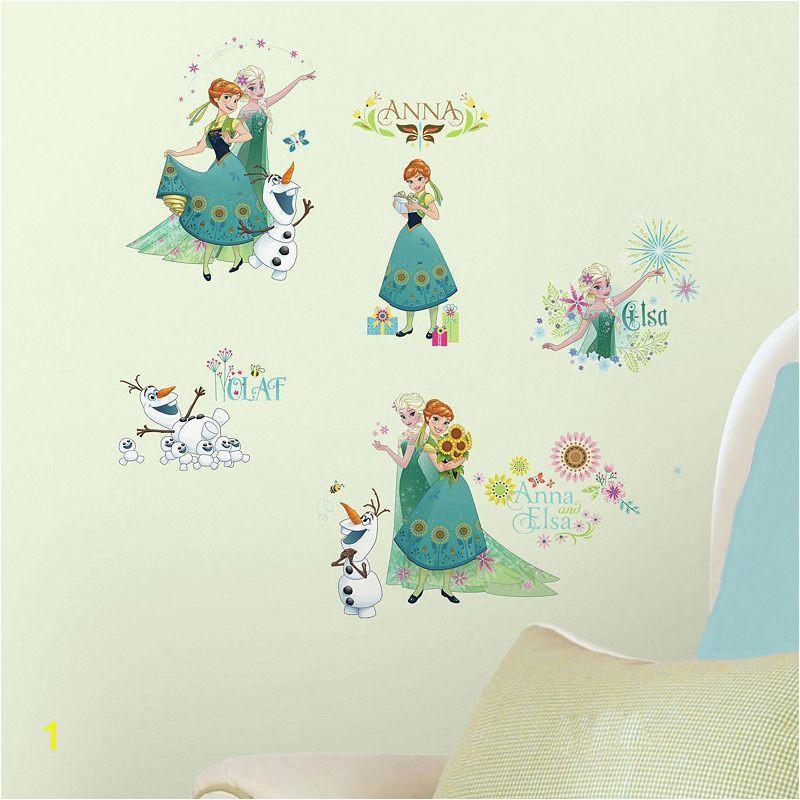 Disney s Frozen Fever Peel & Stick Wall Decals